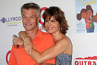CULVER CITY, CA - AUGUST 12:  Harry Hamlin and Lisa Rinna at the 3rd Annual My Brother Charlie Family Fun Festival at Culver Studios on August 12, 2012 in Culver City, California.  Credit: mpi26/MediaPunch Inc.