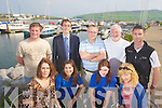 Members of the Dingle Tourism network pictured at the Marina in Dingle, Front from Left, Kathleen Sheehy, Dingle Bay Hotel, Leticia Tamayo and Grace Flannery Dingle Oceanworld and Mary O'Neill, Dingle Bay Charters..Back from left: Declan Hand, Dingle Bay Charters, David Moul, Benners Hotel, Michael O'Neill, Dingle Bay Charters, Tom Hand Dingle Bay Charters and Noel O'Leary Irish Adventures.