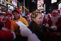 USA, NEW YORK, December 10, 2011.Times Sqare wedding in New York,December 10, 20111. VIEWpress / Kena Betancur.
