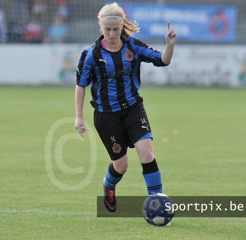 Club Brugge Dames : Silke Demeyere.Foto David Catry / Vrouwenteam.be