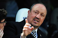 Newcastle United manager Rafa Benítez during Newcastle United vs Chelsea, Premier League Football at St. James' Park on 13th May 2018
