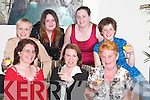 MURDER: Having a ball at the Murder Mystery for ADAPT at The Manor West, Hotel, Tralee, on Friday night. Front l-r: Joanne Prendergast, Angela Barbato, Susie Commane, Helen Barrett and Michelle O'Keeffe. Back l-r: Fiona Barrett and Deirdre O'Keeffe..