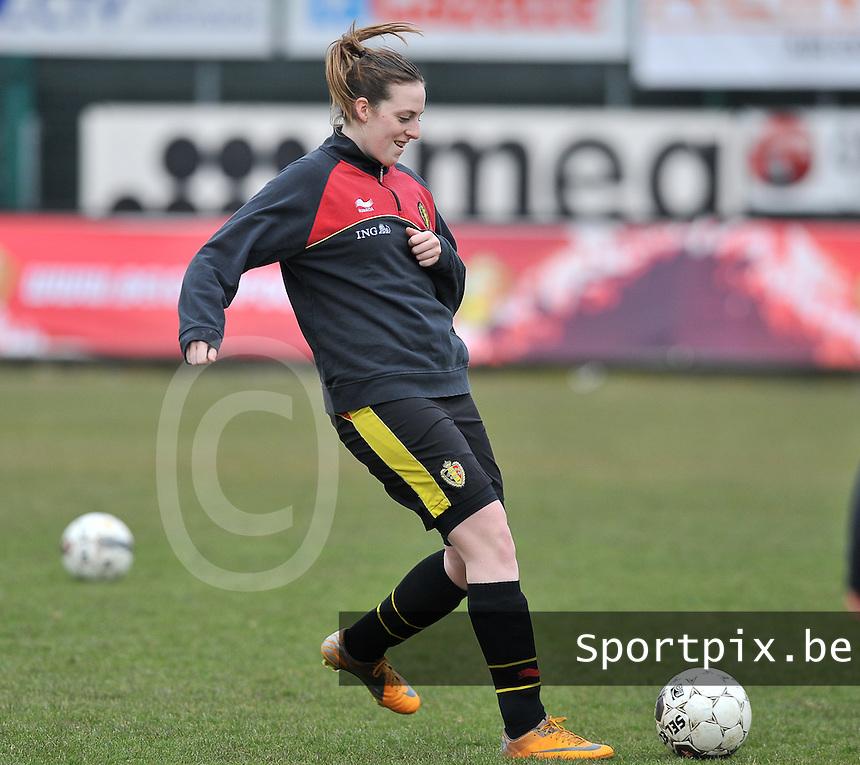 France U19 - Belgium U19 : Britt Vanhamel.foto DAVID CATRY / Nikonpro.be
