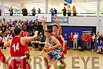 Garveys Rap Buivydas attempts to shoot against UCC in the U20 Basketball league in the Tralee Sports Complex on Sunday