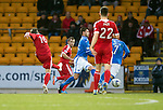 St Johnstone v Aberdeen.....07.12.13    SPFL<br /> Peter Pawlett scores to make it 1-0<br /> Picture by Graeme Hart.<br /> Copyright Perthshire Picture Agency<br /> Tel: 01738 623350  Mobile: 07990 594431