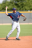 Mark Thompson / Cleveland Indians 2008 Instructional League..Photo by:  Bill Mitchell/Four Seam Images