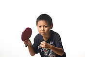 Brian Xu - one of the youngest member of the Triangle Table Tennis Club. He would kick your ass.