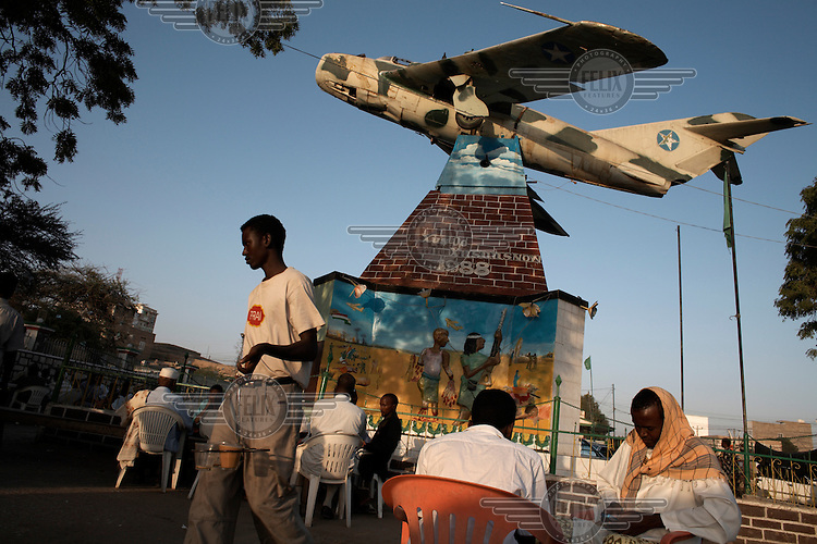 A MiG fighter jet which was used to bomb Hargeisa during the civil war stands as a memorial in the centre of the city.