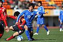 Ryuji Izumi (Ichiritsu Funabashi), JANUARY 7, 2012 - Football /Soccer : 90th All Japan High School Soccer Tournament semi-final between Oita 1-2 Ichiritsu Funabashi at National Stadium, Tokyo, Japan. (Photo by YUTAKA/AFLO SPORT) [1040]