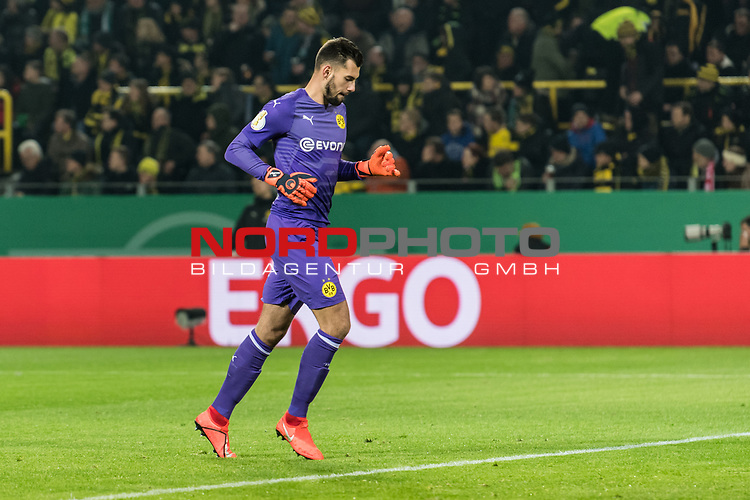 05.02.2019, Signal Iduna Park, Dortmund, GER, DFB-Pokal, Achtelfinale, Borussia Dortmund vs Werder Bremen<br />