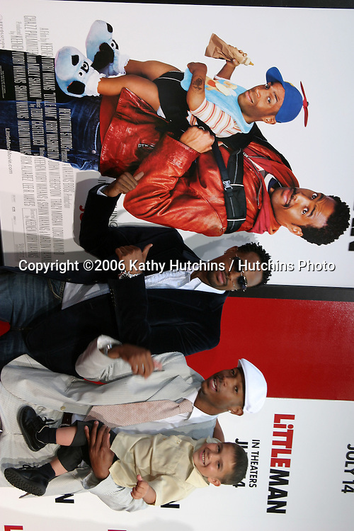 "Shawn & Marlon Wayans & Linden Porco.""Little Man"" Premiere.Mann's National Theater.Westwood, CA.July 6, 2006.©2006 Kathy Hutchins / Hutchins Photo...."