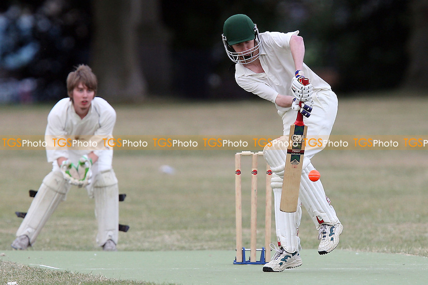 Victoria Park Juniors CC (fielding) vs Victoria Lounge CC - Victoria Park Community Cricket League - 07/07/10 - MANDATORY CREDIT: Gavin Ellis/TGSPHOTO - Self billing applies where appropriate - Tel: 0845 094 6026