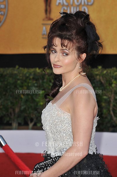 Helena Bonham-Carter at the 17th Annual Screen Actors Guild Awards at the Shrine Auditorium..January 30, 2011  Los Angeles, CA.Picture: Paul Smith / Featureflash