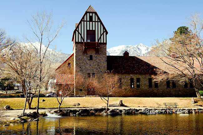 Mount Whitney Fish Hatchery near Independence, CA
