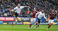 An unmarked Bolton Wanderers' David Wheater goes close<br /> <br /> Photographer Alex Dodd/CameraSport<br /> <br /> The EFL Sky Bet League One - Bolton Wanderers v Northampton Town - Saturday 18th March 2017 - Macron Stadium - Bolton<br /> <br /> World Copyright &copy; 2017 CameraSport. All rights reserved. 43 Linden Ave. Countesthorpe. Leicester. England. LE8 5PG - Tel: +44 (0) 116 277 4147 - admin@camerasport.com - www.camerasport.com