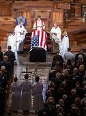Memorial service for the late United States Senator John S. McCain, III (Republican of Arizona) in the Washington National Cathedral in Washington, DC on Saturday, September 1, 2018.<br /> Credit: Ron Sachs / CNP<br /> <br /> (RESTRICTION: NO New York or New Jersey Newspapers or newspapers within a 75 mile radius of New York City)