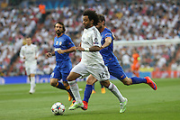 Real Madrid's Brazilian defense Marcelo