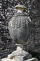 Stone urn, Hinton Ampner, Hampshire.