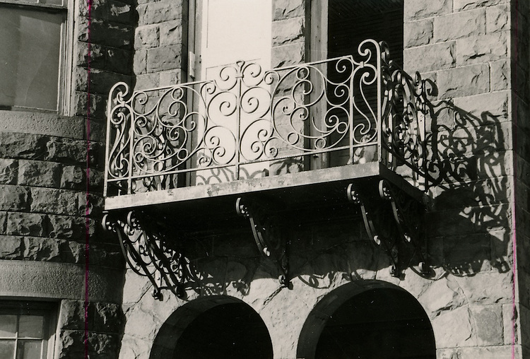 UNDATED..Conservation.Downtown West (A-1-3)...Freemason Street House Detail...NEG#..