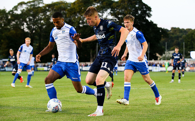 Leeds United's Jack Clarke<br /> <br /> Photographer Alex Dodd/CameraSport<br /> <br /> Football Pre-Season Friendly - Guiseley v Leeds United - Thursday July 11th 2019 - Nethermoor Park - Guiseley<br /> <br /> World Copyright © 2019 CameraSport. All rights reserved. 43 Linden Ave. Countesthorpe. Leicester. England. LE8 5PG - Tel: +44 (0) 116 277 4147 - admin@camerasport.com - www.camerasport.com