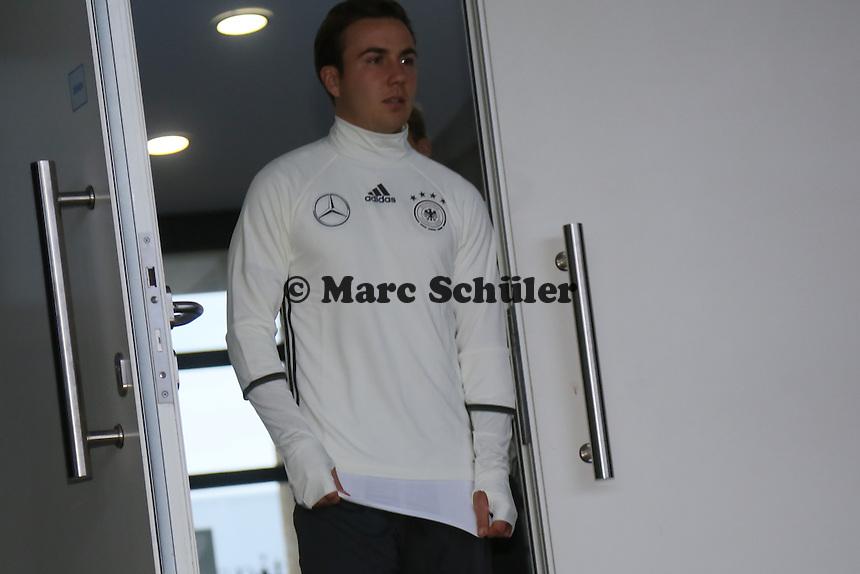 Mario Götze - Training der Deutschen Nationalmannschaft, Wurfplatz Berlin
