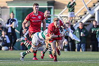 Will HOMER of Jersey Reds during the Greene King IPA Championship match between Ealing Trailfinders and Jersey Reds at Castle Bar , West Ealing , England  on 22 December 2018. Photo by David Horn.