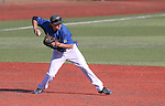 Wildcats' Austin Andrews makes a play against Salt Lake Community College during a college baseball game at Western Nevada College in Carson City, Nev., on Thursday, March 5, 2015. <br /> Photo by Cathleen Allison/Nevada Photo Source