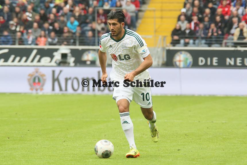 Emre Can (Bayer) - Eintracht Frankfurt vs. Bayer Leverkusen, Commerzbank Arena