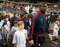 Phoenix, AZ - Saturday, January 21, 2012: USA Men's national team defeats Venezuela 1-0, at the University of Phoenix Stadium.