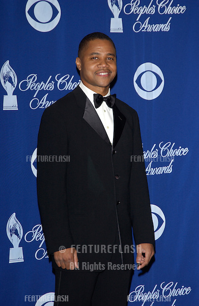 CUBA GOODING JR. at the 30th Annual People's Choice Awards in Pasadena, CA..January 11, 2004