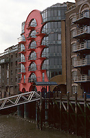 London:  China Wharf, Bermondsey, Wall West.  Campbell Zogolovitch Wilkinson and Gough.   Photo '90.