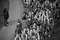 De Ronde van Vlaanderen 2012..peloton on the move