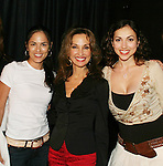 "At the play My Life As You are Terri Ivens ""Simone Torres"", Susan Lucci ""Erika Kane"",  Eden Riegel ""Bianca Montgomery"" on September 15, 2006 at the Producers Club II, NYC.  (Photo by Sue Coflin/Max Photos)"