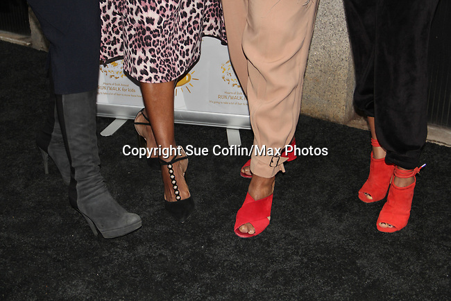 Soledad O'Brien - Deborah Koenigsberger - Tracy Reese - Ronda Ross - celebrating 30 years of style and twenty-five years of giving back through Hearts of Gold at a black carpet salon style spring/summer fashion show and cocktail reception on May 9, 2019 at Blanc et Noir, New York City, New York.(Photo by Sue Coflin/Max Photos)