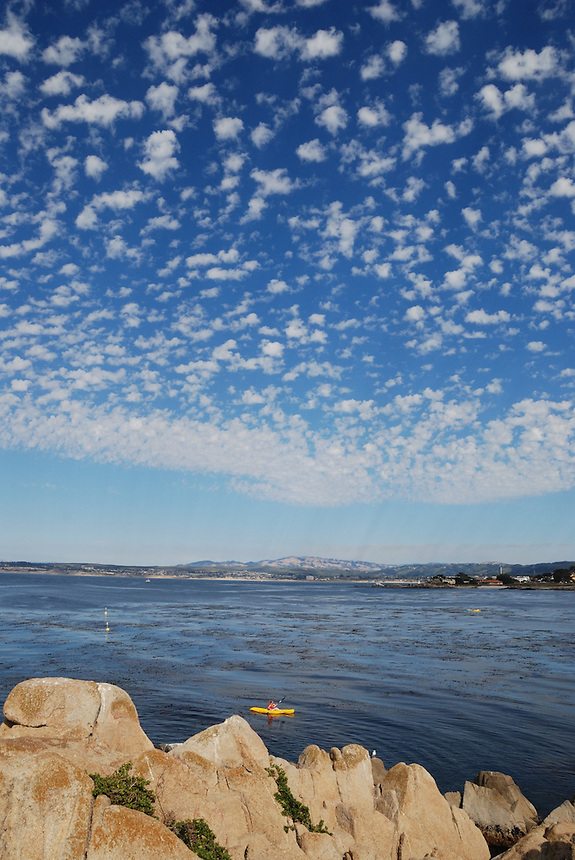 Clouds, Pacific Grove and Monterey Bay