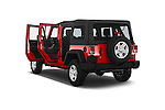 Car images of a 2015 JEEP Wrangler Unlimited Sport 5 Door Sport Utility Vehicle Doors