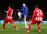 Eden Hazard of Chelsea controls the ball in the area during the Champions League Group C match at the Stamford Bridge, London. Picture date: December 5th 2017. Picture credit should read: David Klein/Sportimage