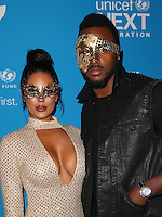 LOS ANGELES, CA - OCTOBER 27: Carissa Rosario, James Anderson at the Fourth Annual UNICEF Masquerade Ball Los Angeles at Clifton's Cafeteria in Los Angeles, California on October 27, 2016. Credit: Faye Sadou/MediaPunch