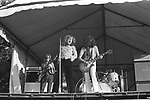 Led Zeppelin  1969  John Paul Jones, Robert Plant, Jimmy Page and John Bonham at Bath Festival........