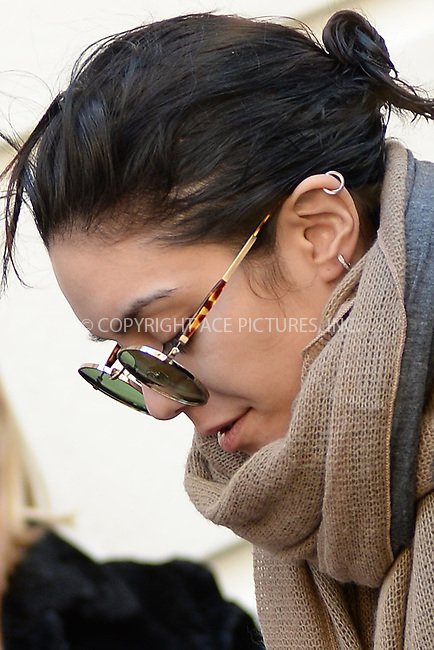 WWW.ACEPIXS.COM<br /> April 4, 2015 New York City<br /> <br /> Vanessa Hudgens arrives to a performance of Gigi on Broadway at The Neil Simon Theatre on April 4, 2015 in New York City.<br /> <br /> Please byline: Kristin Callahan/AcePictures<br /> <br /> ACEPIXS.COM<br /> <br /> Tel: (646) 769 0430<br /> e-mail: info@acepixs.com<br /> web: http://www.acepixs.com