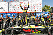 2018 Verizon IndyCar Series - Firestone Grand Prix of St. Petersburg<br /> St. Petersburg, FL USA<br /> Sunday 11 March 2018<br /> Sébastien Bourdais, Dale Coyne Racing with Vasser-Sullivan Honda, podium<br /> World Copyright: Michael L. Levitt<br /> LAT Images<br /> ref: Digital Image _01I6264