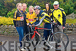 Gearing up for this weekend's cycle are Currow Cycling Club and Currow Ladies GAA club who have teamed up to host a leisure cycle.<br /> L-R Noelle Scanlon, Margo Brosnan (chair of Currow Ladies), Shane O'Neill (youth officer Currow Cycling Club), Roisin Daly, David Costello and Pa Breen (treasurer of Currow Cycling Club).
