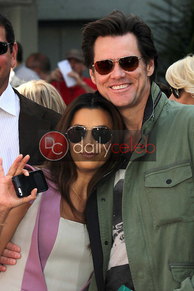Eva Longoria, Jim Carrey<br /> at the Jane Fonda Hand And Foot Print Ceremony as part of the 2013 TCM Classic Film Festival, TCL Chinese Theater, Hollywood, CA 04-27-13<br /> David Edwards/DailyCeleb.Com 818-249-4998