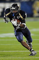 11 October 2008:  FIU running back A'mod Ned (3) runs for extra yardage in the FIU 31-21 victory over Middle Tennessee at FIU Stadium in Miami, Florida.
