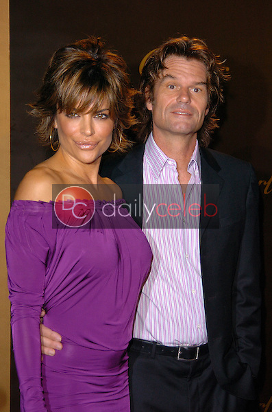 Lisa Rinna and Harry Hamlin<br />