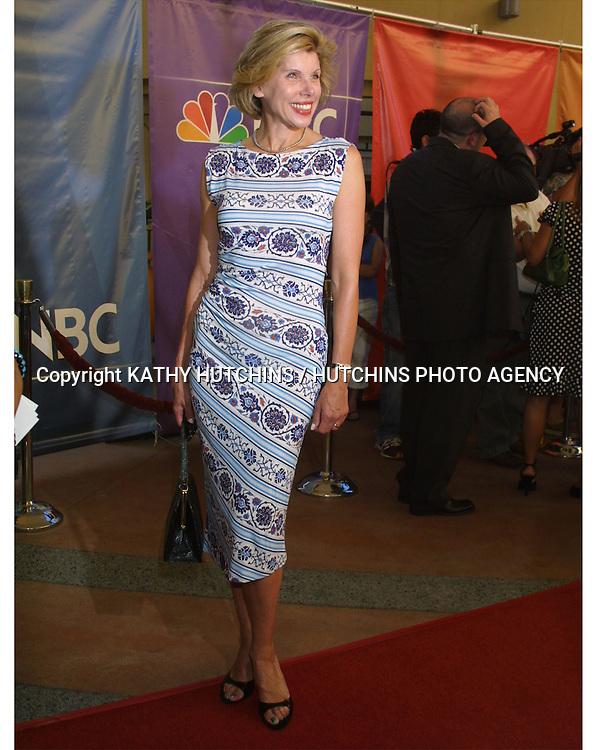 ©2003 KATHY HUTCHINS / HUTCHINS PHOTO AGENCY.NBC TCA PARTY.HOLLYWOOD & HIGHLAND GRAND BALLROOM.CASINO NIGHT.JULY 25, 2003..CHRISTINE BARANSKI