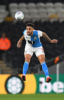 Blackburn Rovers' Derrick Williams<br /> <br /> Photographer Dave Howarth/CameraSport<br /> <br /> The Premier League - Hull City v Blackburn Rovers - Tuesday August 20th 2019  - KCOM Stadium - Hull<br /> <br /> World Copyright © 2019 CameraSport. All rights reserved. 43 Linden Ave. Countesthorpe. Leicester. England. LE8 5PG - Tel: +44 (0) 116 277 4147 - admin@camerasport.com - www.camerasport.com