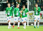 S&ouml;dert&auml;lje 2015-10-05 Fotboll Superettan Syrianska FC - J&ouml;nk&ouml;pings S&ouml;dra :  <br /> J&ouml;nk&ouml;ping S&ouml;dras Daryl Smylie , Tommy Thelin , Fredric Fendrich och Joakim Karlsson deppar under matchen mellan Syrianska FC och J&ouml;nk&ouml;pings S&ouml;dra <br /> (Foto: Kenta J&ouml;nsson) Nyckelord:  Syrianska SFC S&ouml;dert&auml;lje Fotbollsarena J&ouml;nk&ouml;ping S&ouml;dra J-S&ouml;dra depp besviken besvikelse sorg ledsen deppig nedst&auml;md uppgiven sad disappointment disappointed dejected