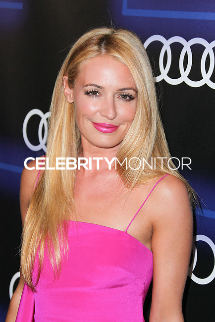 WEST HOLLYWOOD, CA, USA - AUGUST 21: Cat Deeley arrives at the Audi Emmy Week Celebration held at Cecconi's Restaurant on August 21, 2014 in West Hollywood, California, United States. (Photo by Xavier Collin/Celebrity Monitor)