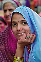 Young indian woman, Udaipur, India.